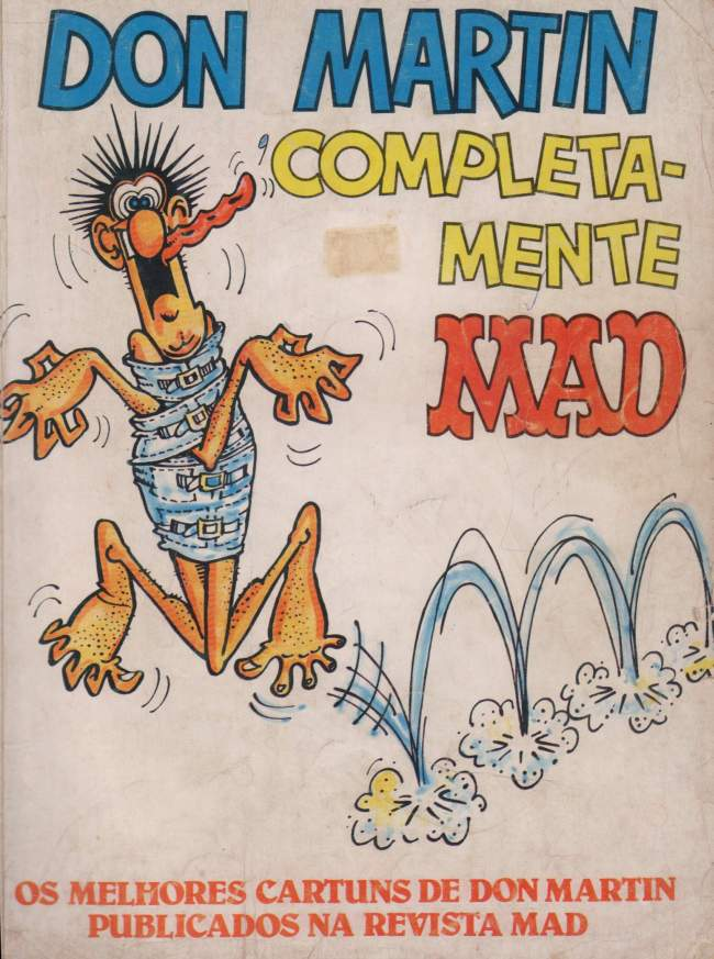 Don Martin Completa-Mente MAD • Brasil • 2nd Edition - Record