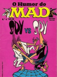 O humor do MAD Paperbacks #4 • Brasil • 1st Edition - Veechi