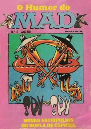 O humor do MAD Paperbacks #6 • Brasil • 1st Edition - Veechi