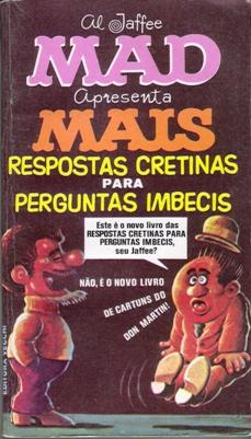 Mais Respostas Cretinas Para Perguntas Imbecis #15 • Brasil • 1st Edition - Veechi