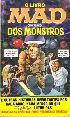 O Livro MAD (EECA!) dos Monstros #12 • Brasil • 1st Edition - Veechi