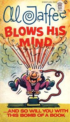 Al Jaffee blows his mind • Great Britain