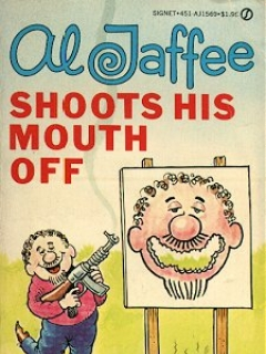 Go to Al Jaffee shoots his mouth off • Great Britain