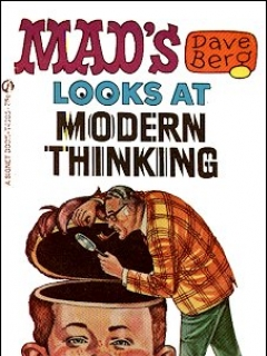 Go to MAD's Dave Berg looks at Modern Thinking • Great Britain