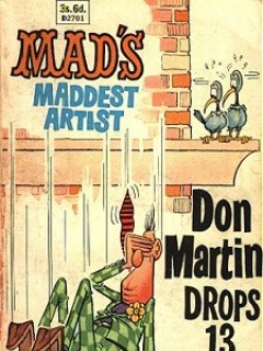 Don Martin drops 13 stories! • Great Britain