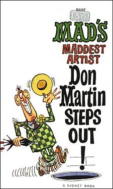 Don Martin steps out! • Great Britain