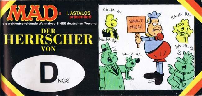Der Herrscher von Dings • Germany • 1st Edition - Williams