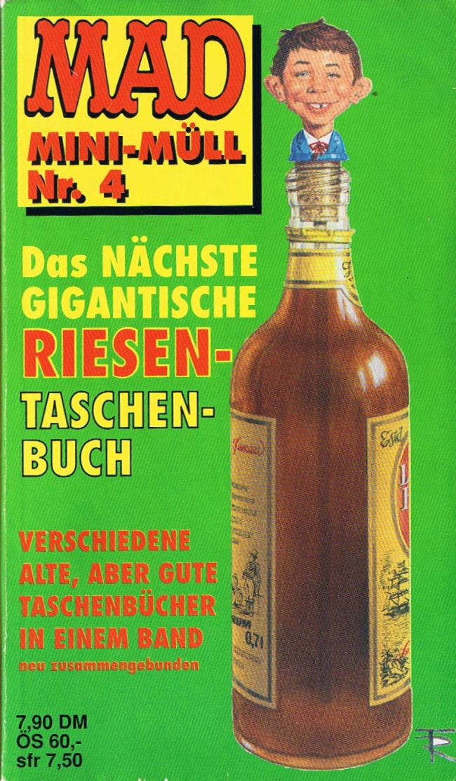 MAD Mini-Müll #4 • Germany • 1st Edition - Williams