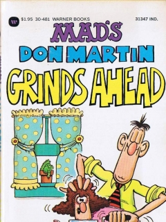 Go to MAD's Don Martin Grinds Ahead