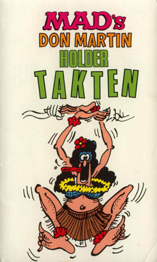 Mad's don martin holder takten #12 • Norway • 2nd Edition - Semic