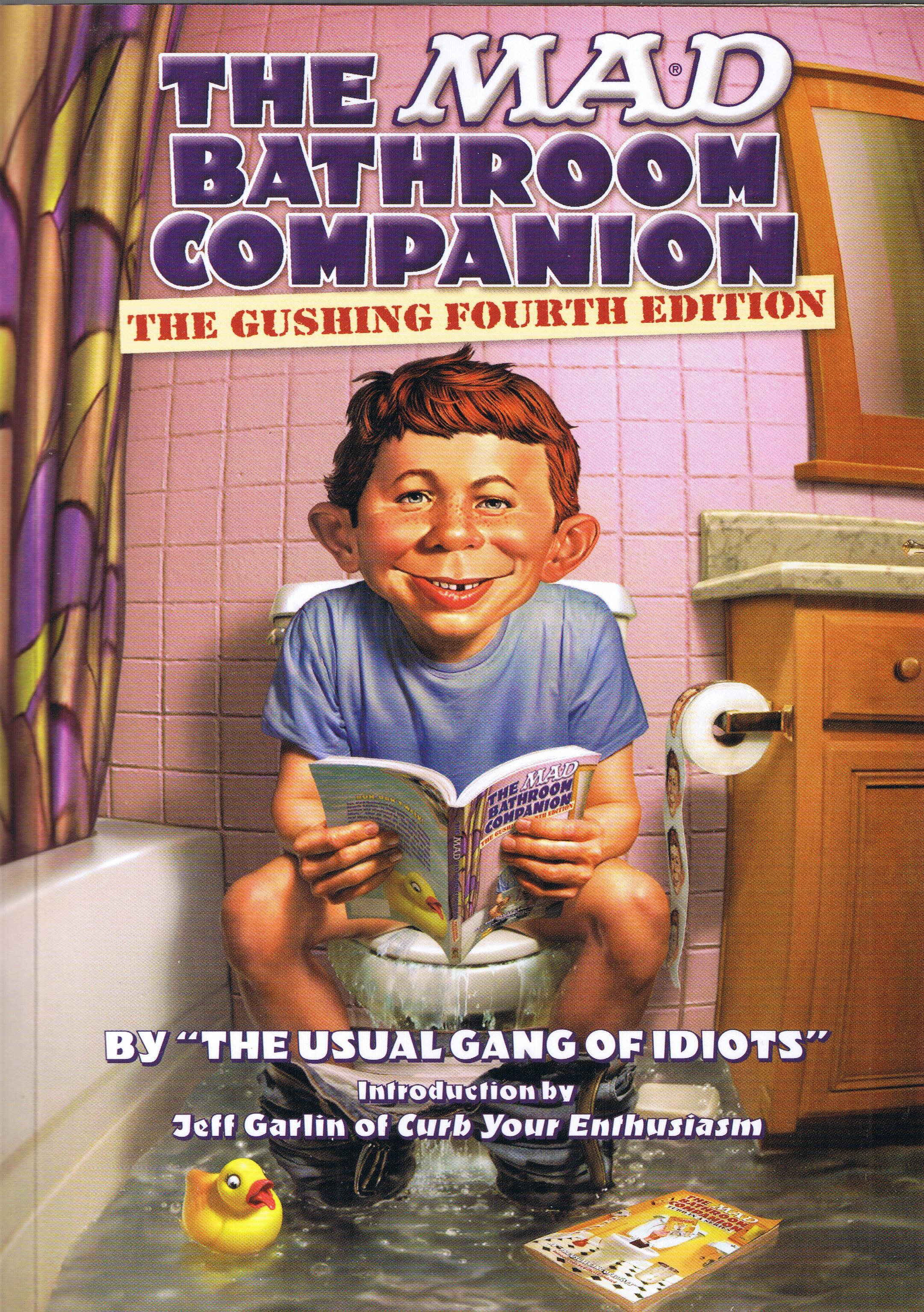 The MAD Bathroom Companion #4 • USA • 1st Edition - New York