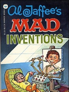 Go to Al Jaffee's Mad Inventions • USA • 1st Edition - New York