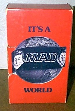 It's a MAD World (red) • USA • 1st Edition - New York