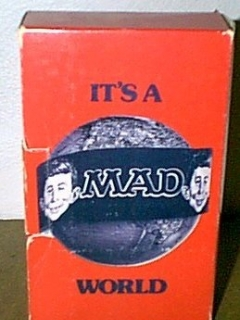 Go to It's a MAD World (red) • USA • 1st Edition - New York