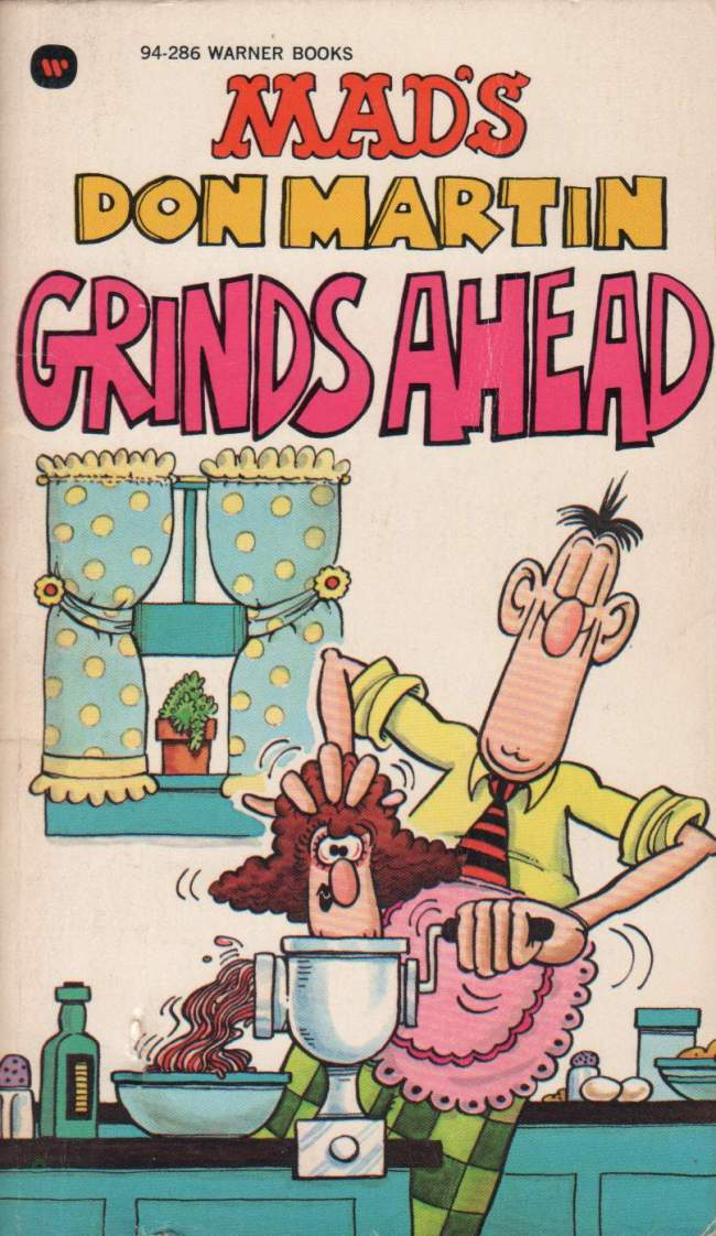 Don Martin Grinds Ahead #11 • Great Britain