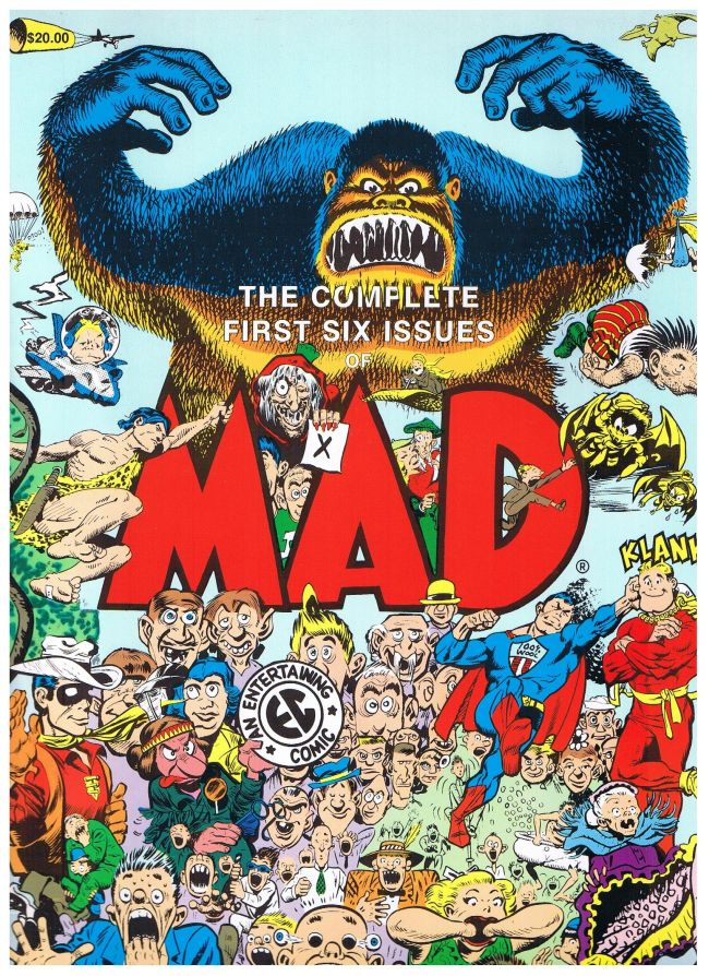 The complete first six Issues of MAD • USA • 1st Edition - New York