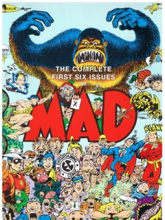 Go to The complete first six Issues of MAD