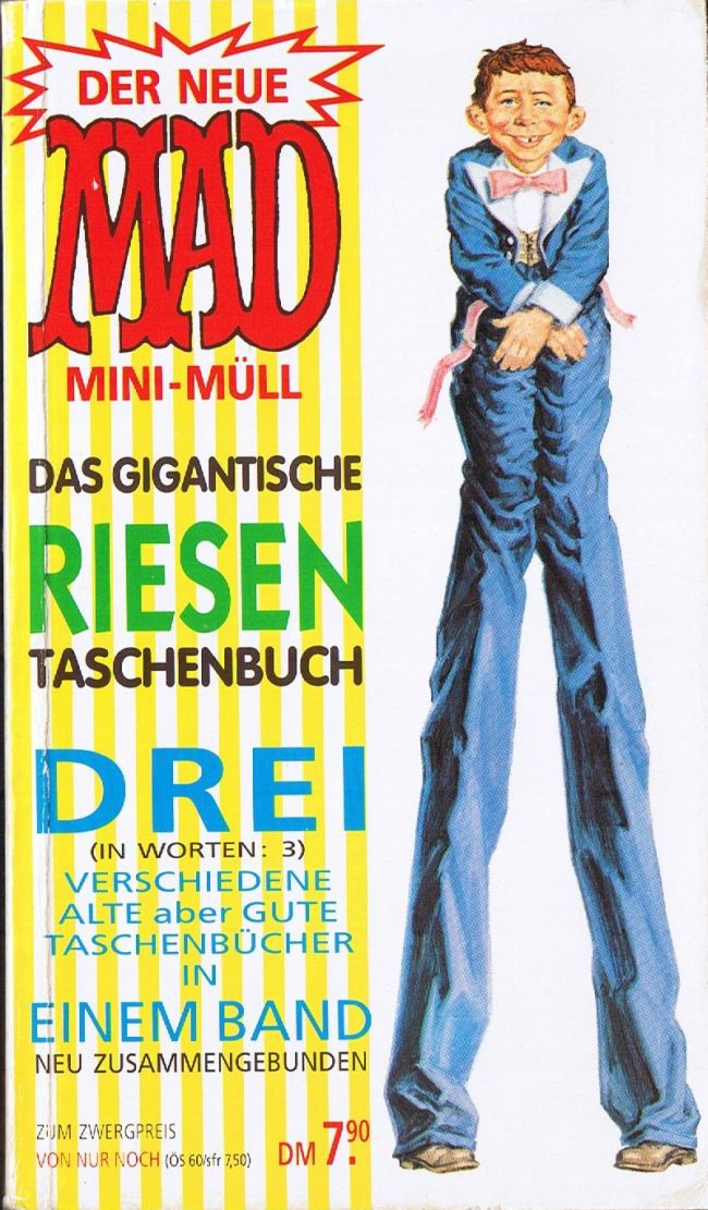 MAD Mini-Müll #1 • Germany • 1st Edition - Williams