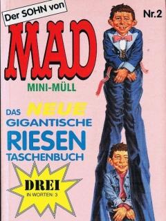 MAD Mini-Müll #2 • Germany • 1st Edition - Williams