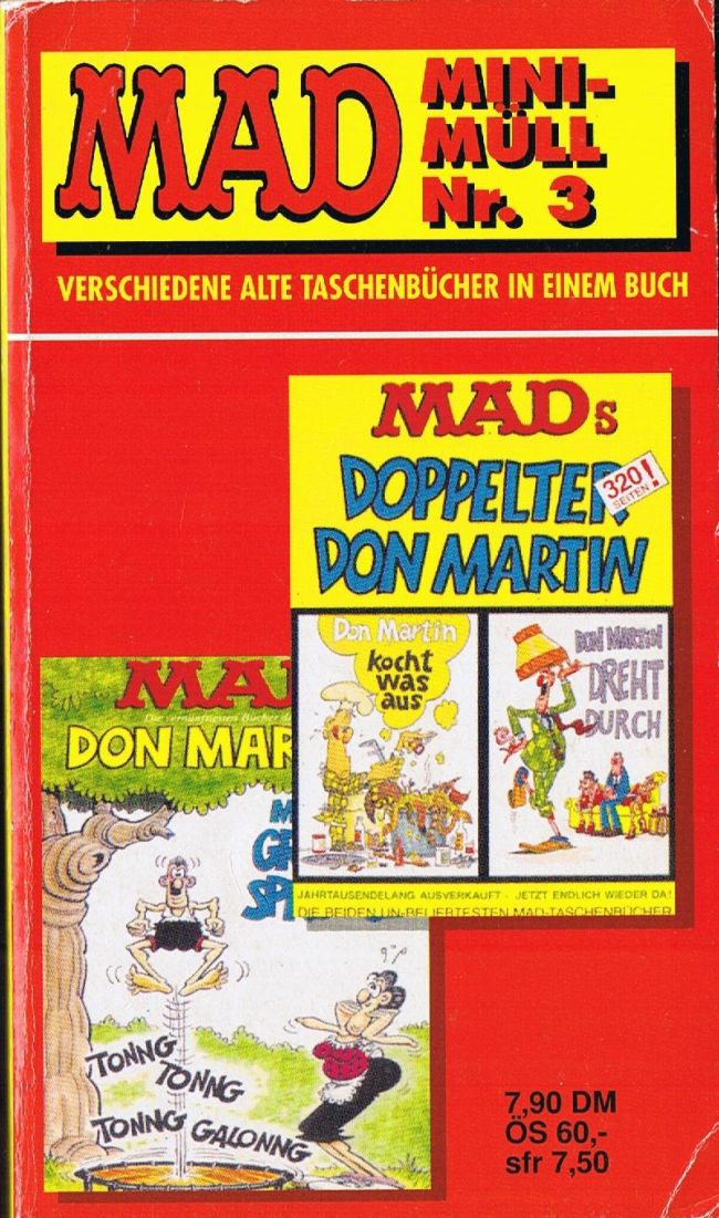 MAD Mini-Müll • Germany • 1st Edition - Williams