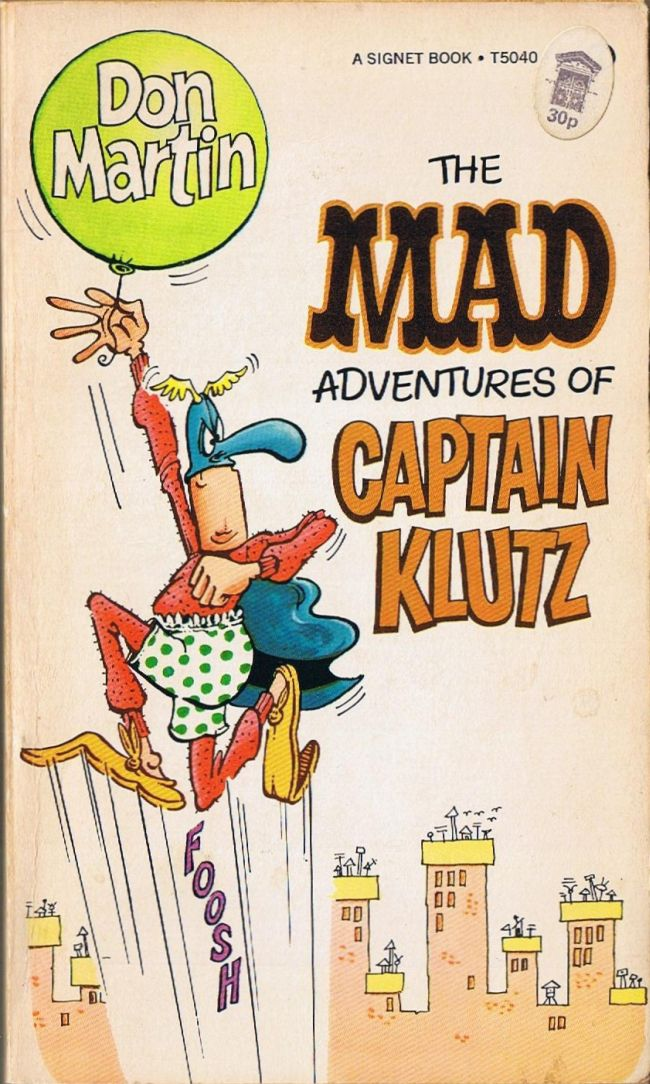 The MAD Adventures of Captain Klutz • Great Britain