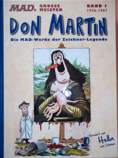 Go to MADs große Meister: Don Martin #1 • Germany • 2nd Edition - Dino/Panini