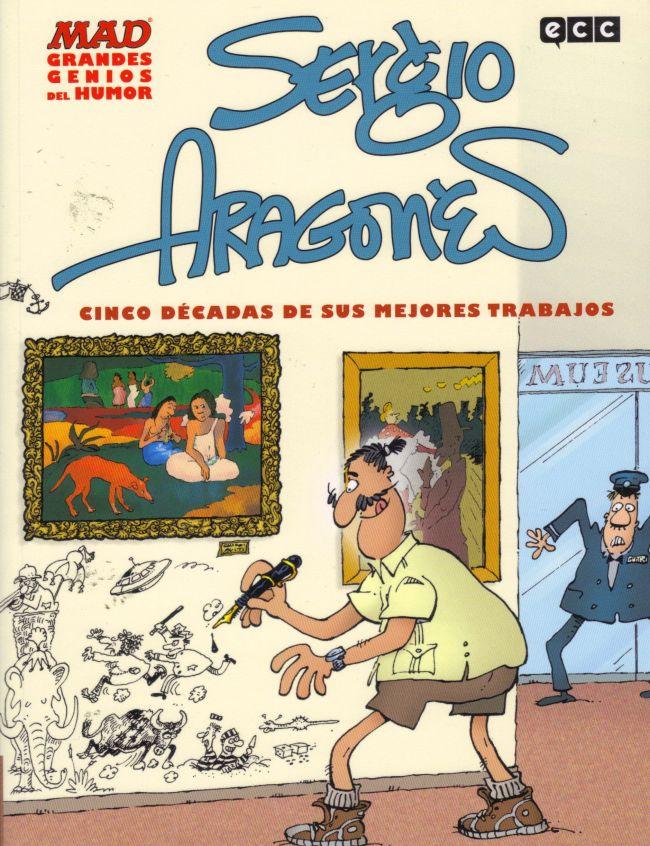 MAD Grandes genios del humor: Sergio Aragonés • Spain