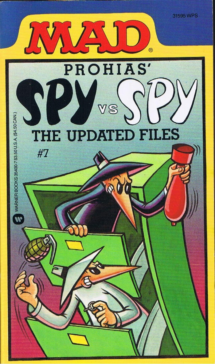 Spy vs Spy, The Updated Files #7 • USA • 1st Edition - New York