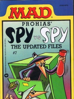 Go to Spy vs Spy, The Updated Files #7