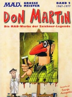 Go to MADs große Meister: Don Martin 1967-1977 #2 • Germany • 2nd Edition - Dino/Panini