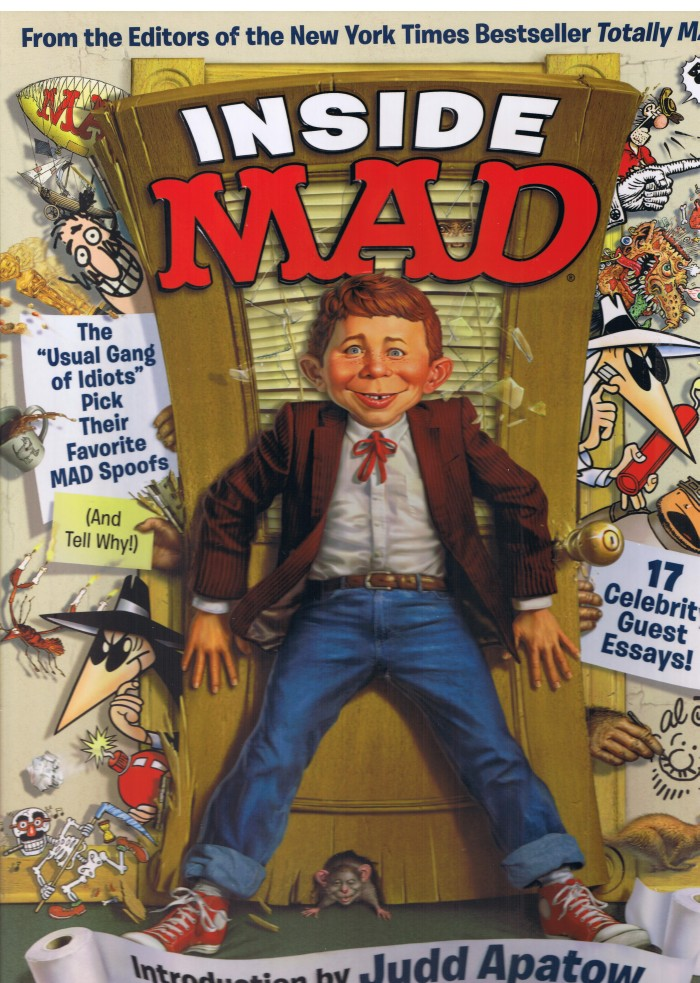 Inside MAD: The Usual Gang of Idiots Pick Their Favorite MAD Spoofs • USA • 1st Edition - New York