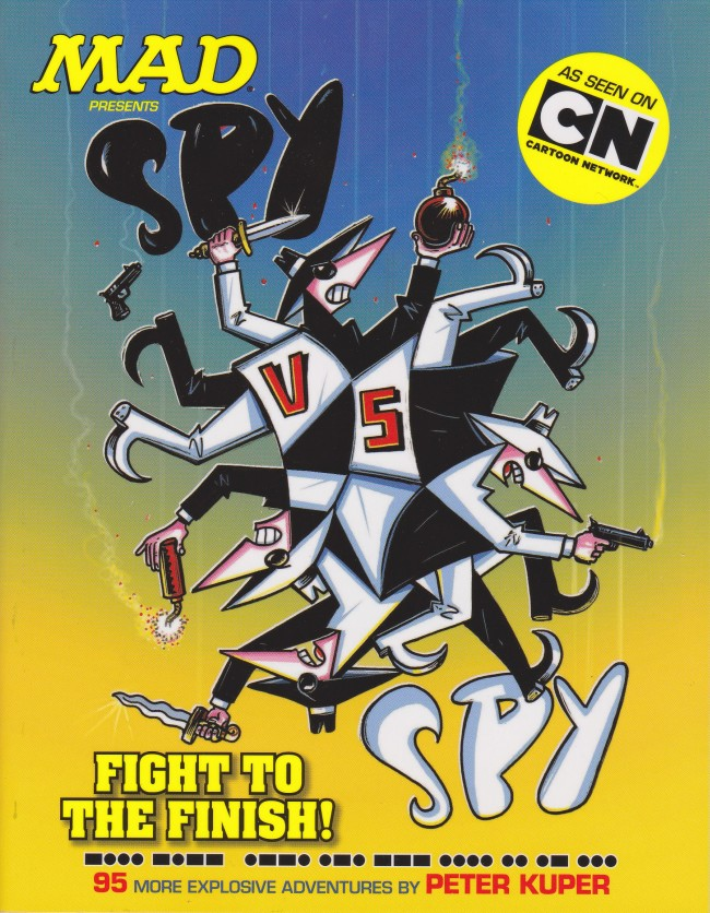 Spy vs. Spy: Fight to the Finish! • USA • 1st Edition - New York
