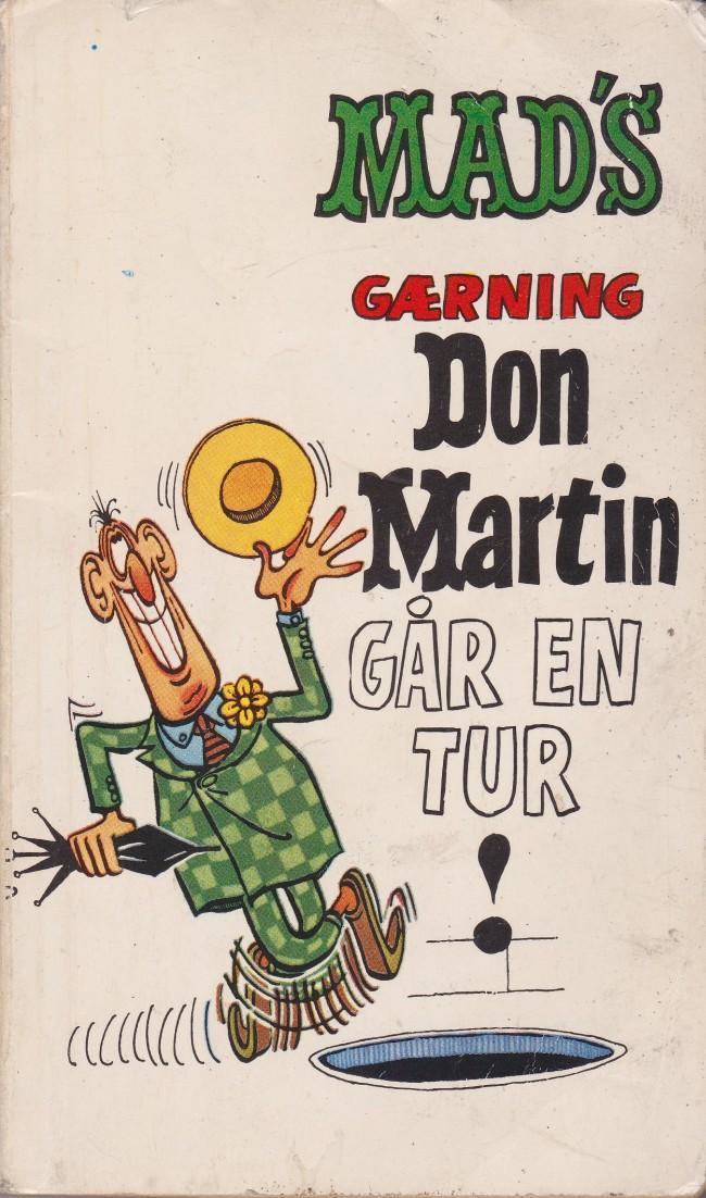 Mad's gærning Don Martin går en tur! • Norway • 1st Edition - Williams