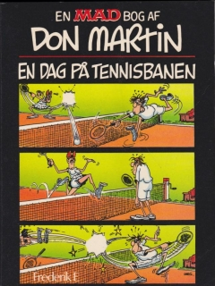 Don Martin En Dag Pa Tennisbanen