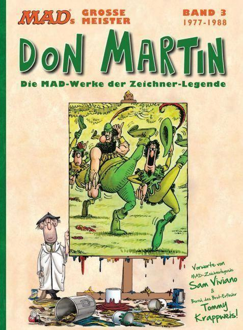 MADs große Meister: Don Martin: 1977-1988 #3 • Germany • 2nd Edition - Dino/Panini
