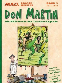 Go to MADs große Meister: Don Martin: 1977-1988 #3 • Germany • 2nd Edition - Dino/Panini