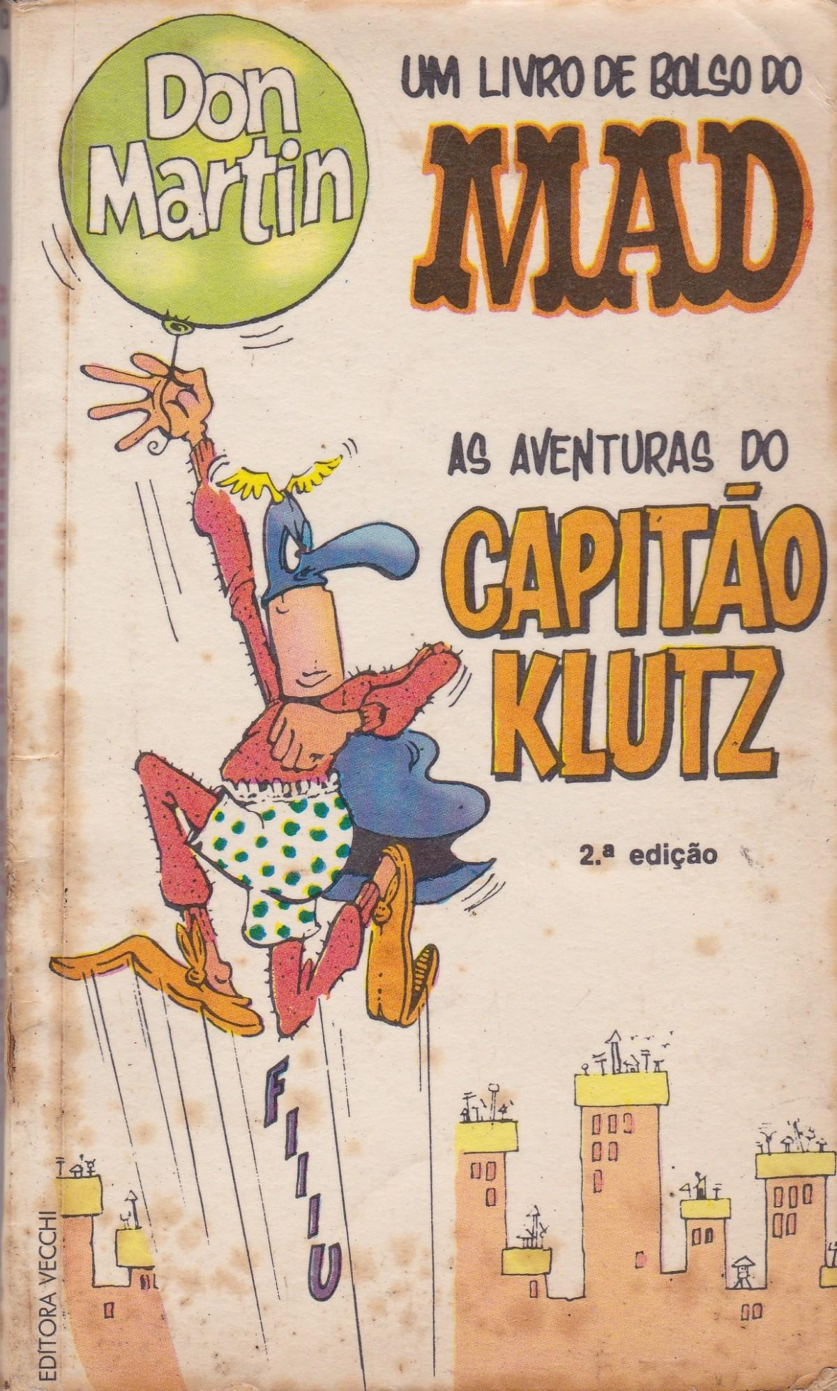 Don Martin - As Aventuras do Capitão Klutz #1 • Brasil • 1st Edition - Veechi