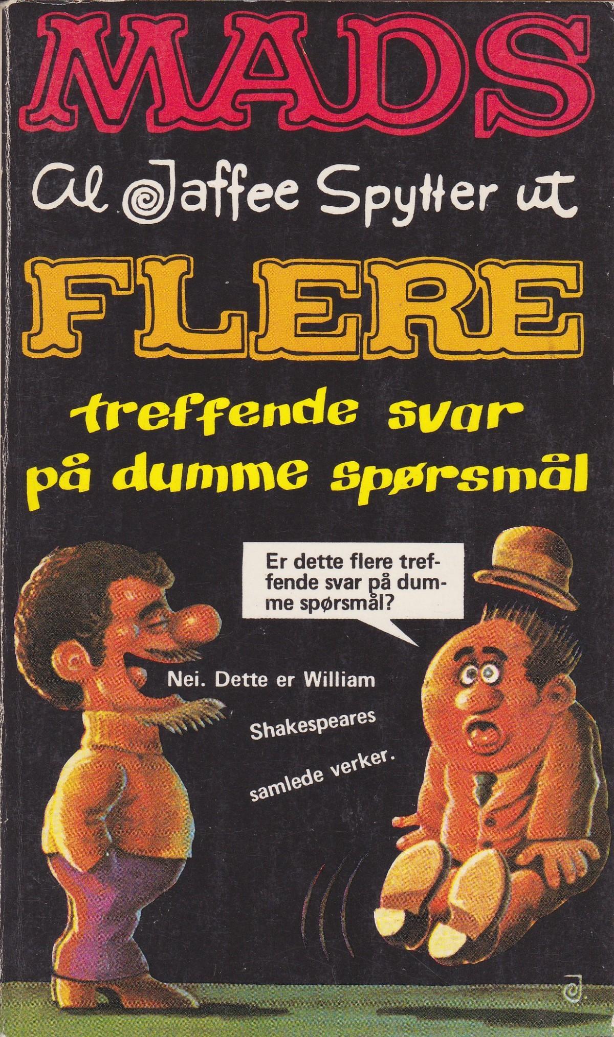 Al jaffee spytter ut flere treffende svar på dumme spørsmål #11 • Norway • 1st Edition - Williams