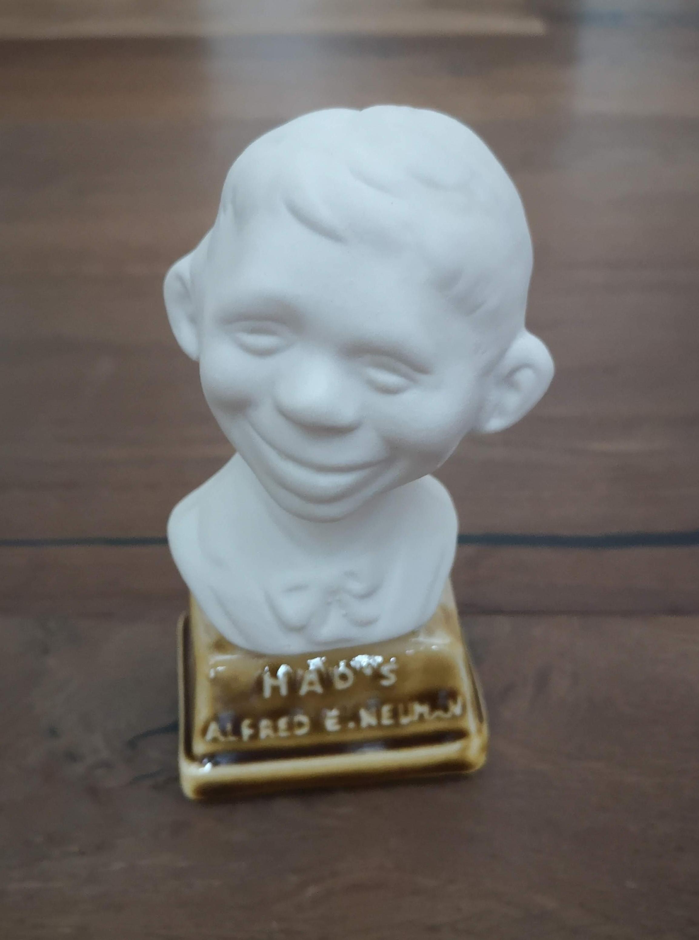 Bust Porcelain Alfred E. Neuman • Sweden