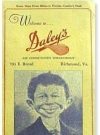 Image of Restaurant Menu Card Pre MAD Alfred E.Neuman #1