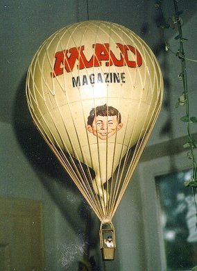 Hot Air Balloon with MAD Magazine logo • Germany