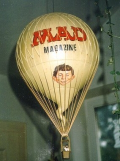 Go to Hot Air Balloon with MAD Magazine logo • Germany