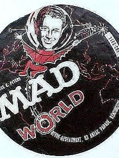Flyer Sydney Australia Restaurant 'MAD World'
