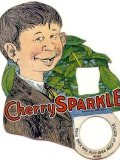 Go to Cherry Sparkle Bottle Topper
