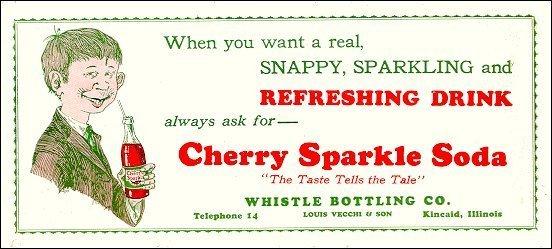 Cherry Sparkle Blotter • USA