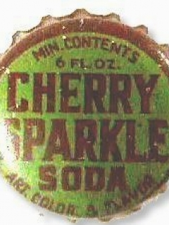 Go to Cherry Sparkle Bottle Cap • USA