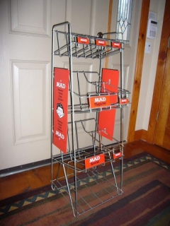 Sales Rack for MAD Magazines