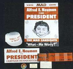 Kit 'Alfred E. Neuman for President' 1960 • USA