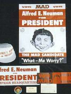 Go to Kit 'Alfred E. Neuman for President' 1960 • USA