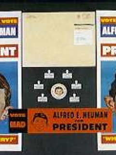 Kit 'Alfred E. Neuman for President' 1964 • USA